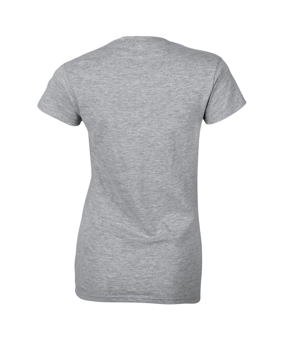 Gildan-Womens-Ladies-Soft-Style-Plain-V-Neck-T-Shirt-Cotton-Tee-Tshirt thumbnail 142