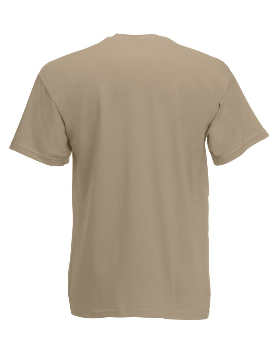 5-Pack-Men-039-s-Fruit-of-the-Loom-Plain-100-Cotton-Blank-Tee-Shirt-Tshirt-T-Shirt thumbnail 150