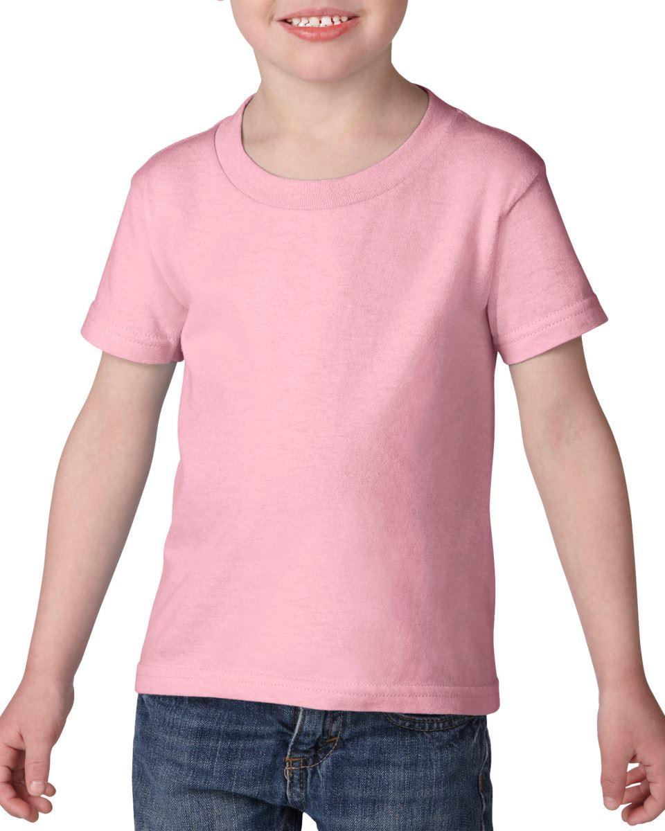 GILDAN-Childrens-Kids-Toddler-Heavy-Cotton-T-Shirts-T-Shirt-Tshirt-Tee-6-Colours thumbnail 10