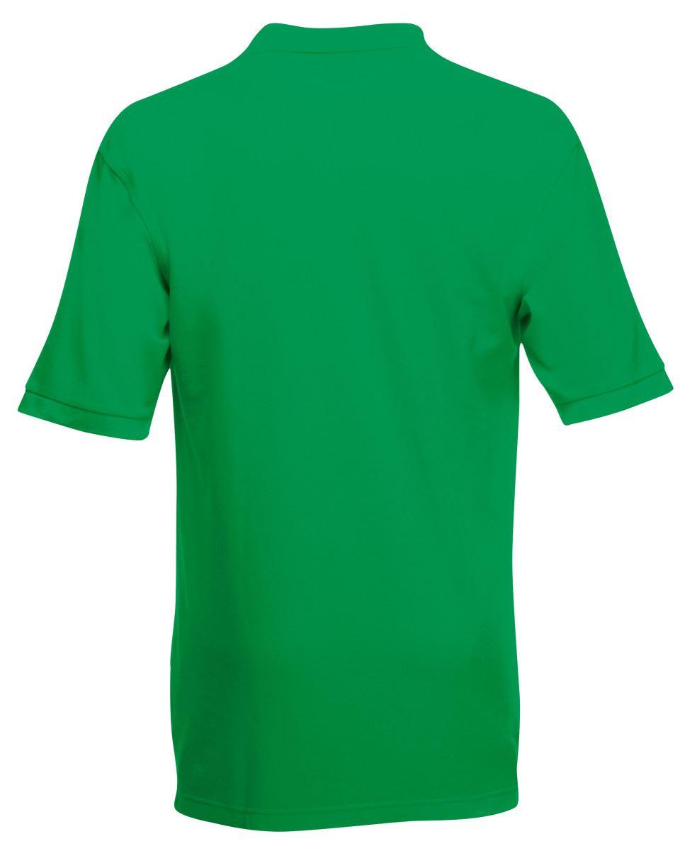 Mens-Polo-Shirts-Fruit-of-the-Loom-Premium-Polo-100-Cotton-Polo-Shirt-SS255 thumbnail 23