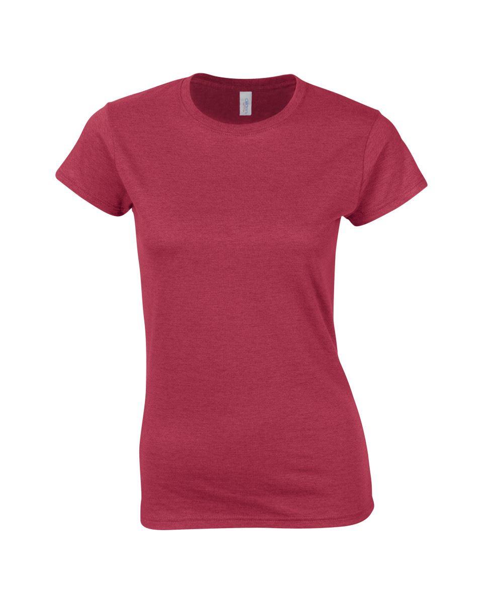 Gildan-Womens-Ladies-Soft-Style-Plain-V-Neck-T-Shirt-Cotton-Tee-Tshirt thumbnail 14