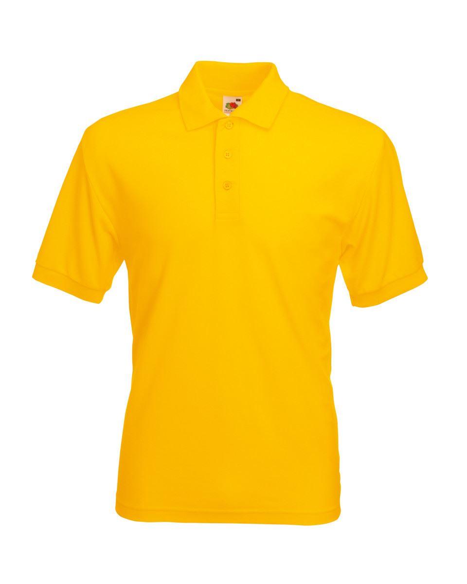 Fruit-of-the-Loom-Plain-Cotton-Mens-Polo-Shirts-T-Shirt-Short-Sleeve-Tshirt thumbnail 28