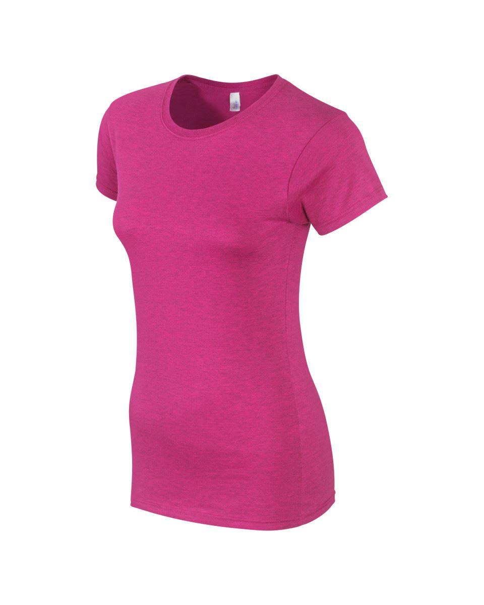 Gildan-Womens-Ladies-Soft-Style-Plain-V-Neck-T-Shirt-Cotton-Tee-Tshirt thumbnail 21