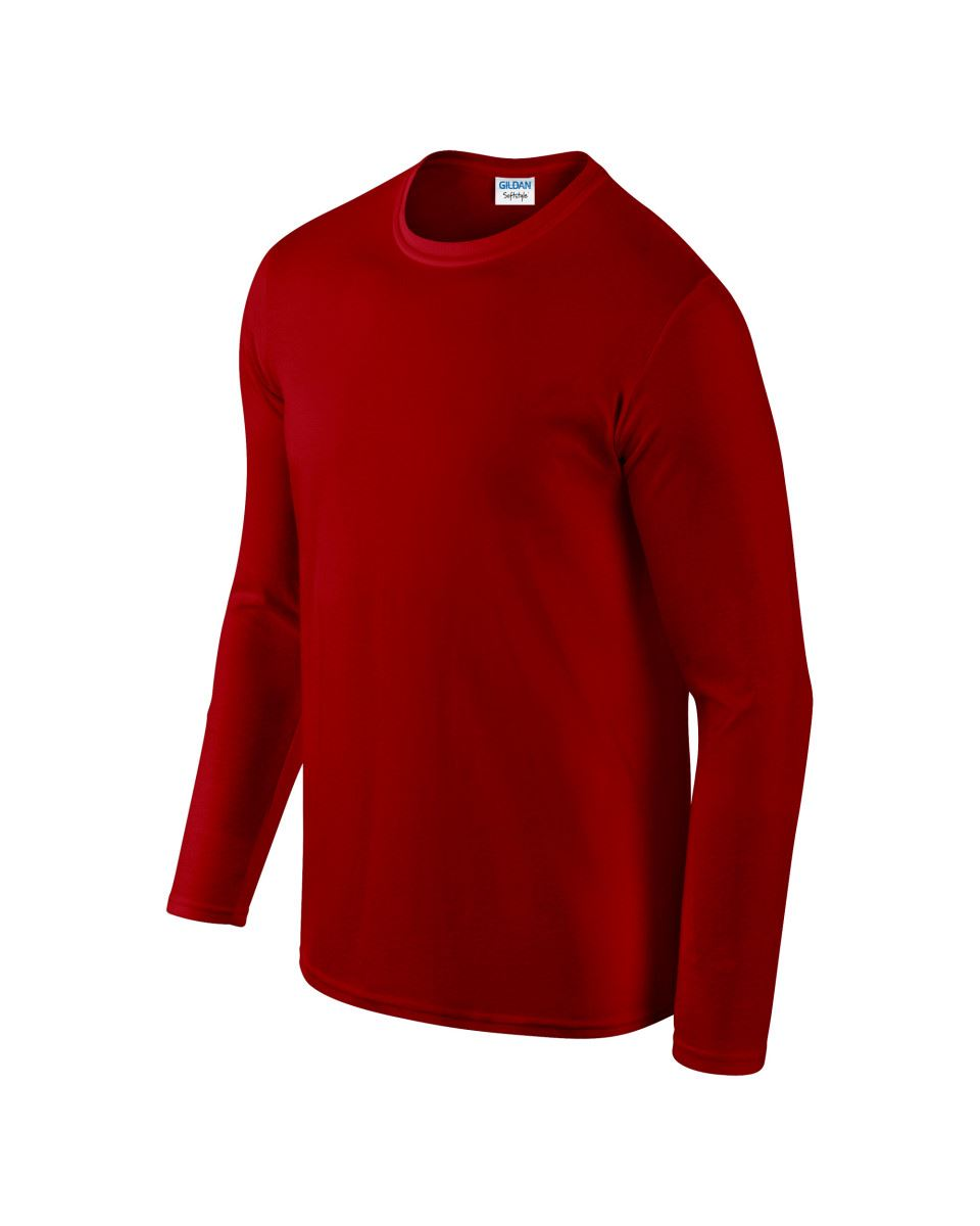 Gildan-MEN-039-S-LONG-SLEEVE-T-SHIRT-SOFT-COTTON-PLAIN-TOP-SLEEVES-CASUAL-NEW-S-2XL thumbnail 30