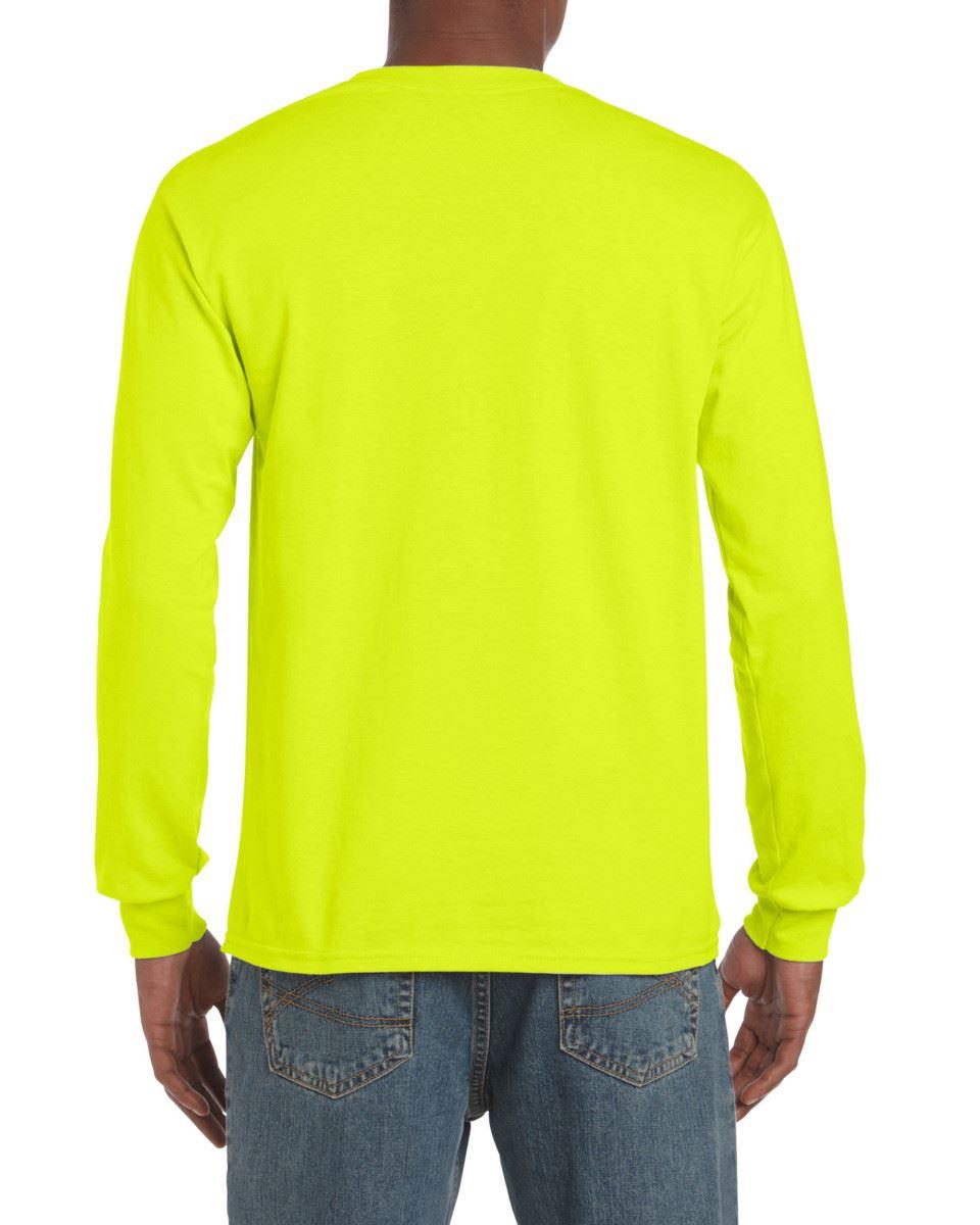Gildan-Mens-Ultra-Cotton-Adult-Long-Sleeve-Plain-T-Shirt-Tshirt-Cotton-Tee-Shirt thumbnail 99