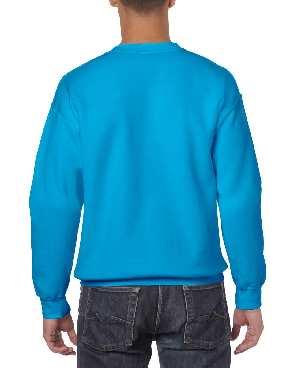 Gildan-Heavy-Blend-Adult-Crew-Neck-Pullover-Sweatshirt-Sweater-Workwear-Uniform thumbnail 152