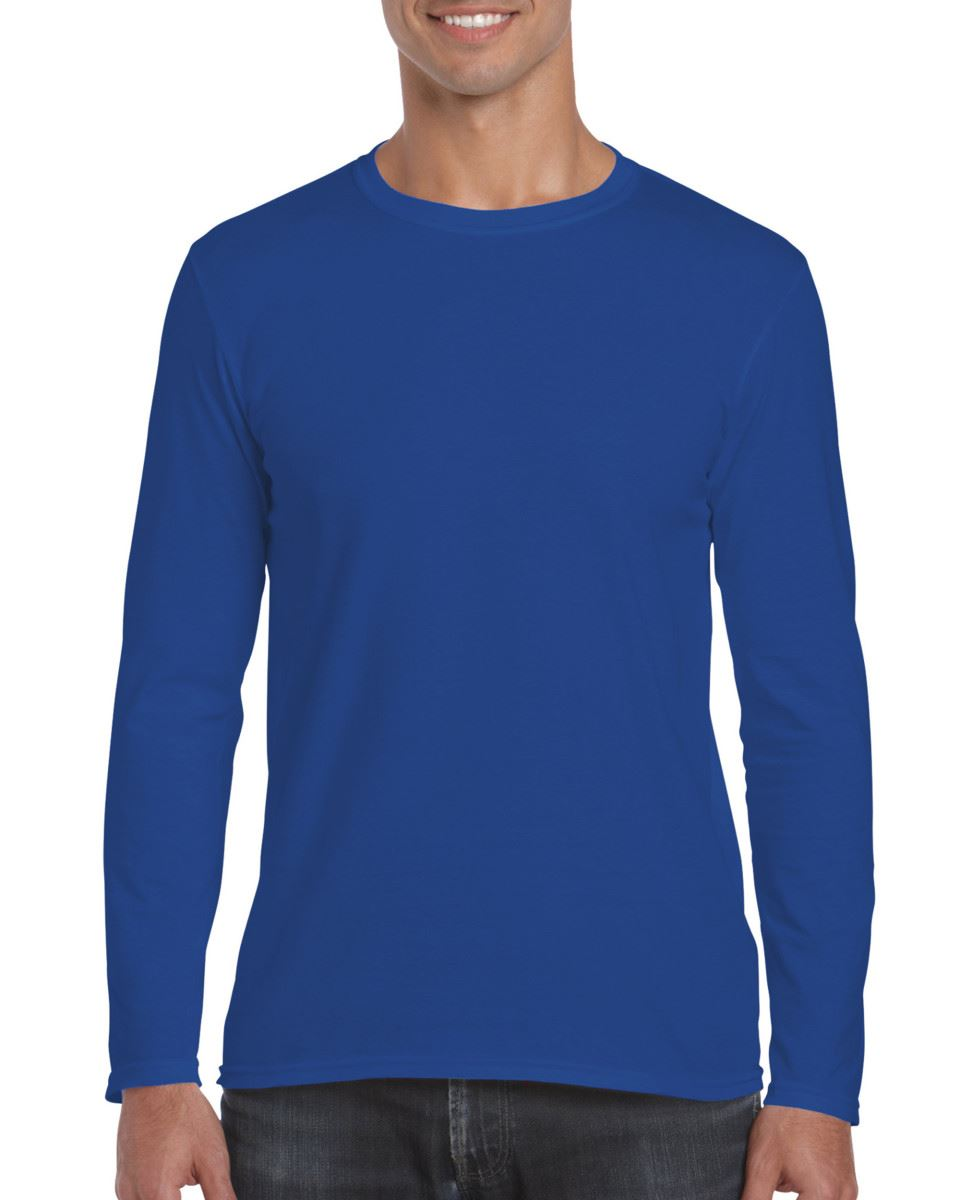 Gildan-MEN-039-S-LONG-SLEEVE-T-SHIRT-SOFT-COTTON-PLAIN-TOP-SLEEVES-CASUAL-NEW-S-2XL thumbnail 37