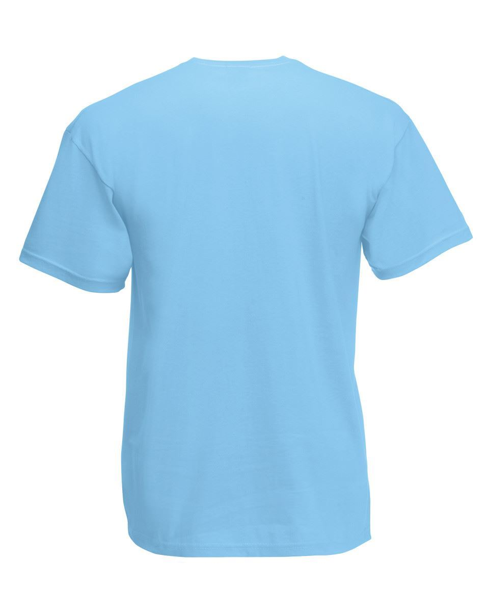 3-PACK-FRUIT-OF-THE-LOOM-Plain-T-Shirts-Unisex-Men-Women-T-Shirt-Tee-Shirt thumbnail 121