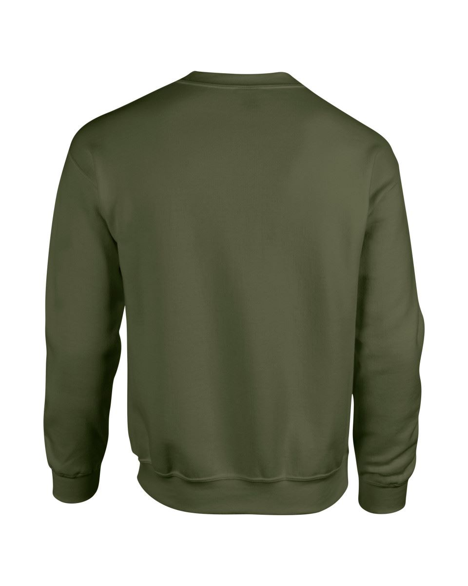 Gildan-Heavy-Blend-Adult-Crew-Neck-Pullover-Sweatshirt-Sweater-Workwear-Uniform thumbnail 126