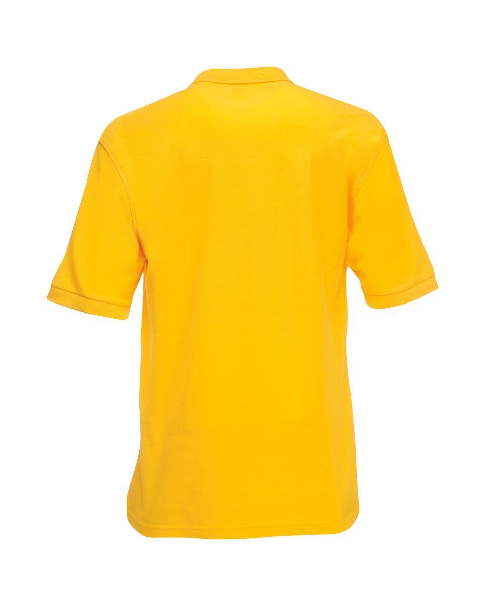 Fruit-of-the-Loom-Plain-Cotton-Mens-Polo-Shirts-T-Shirt-Short-Sleeve-Tshirt thumbnail 29
