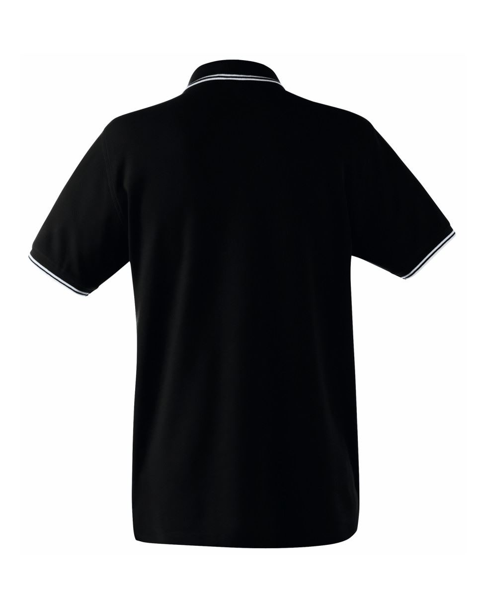 FRUIT-OF-THE-LOOM-Men-039-s-Tipped-Polo-Contrast-Neck-Tape-Cuff-Pure-Cotton-Polo-Top thumbnail 5