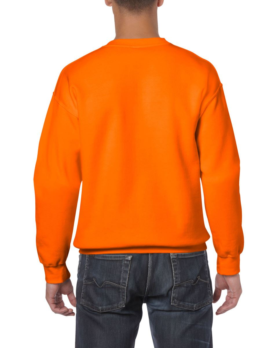 Gildan-Heavy-Blend-Adult-Crew-Neck-Pullover-Sweatshirt-Sweater-Workwear-Uniform thumbnail 140