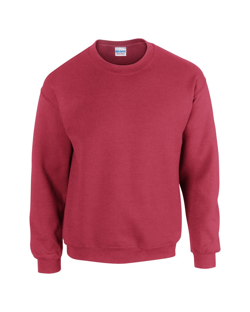 Gildan-Heavy-Blend-Adult-Crew-Neck-Pullover-Sweatshirt-Sweater-Workwear-Uniform thumbnail 35