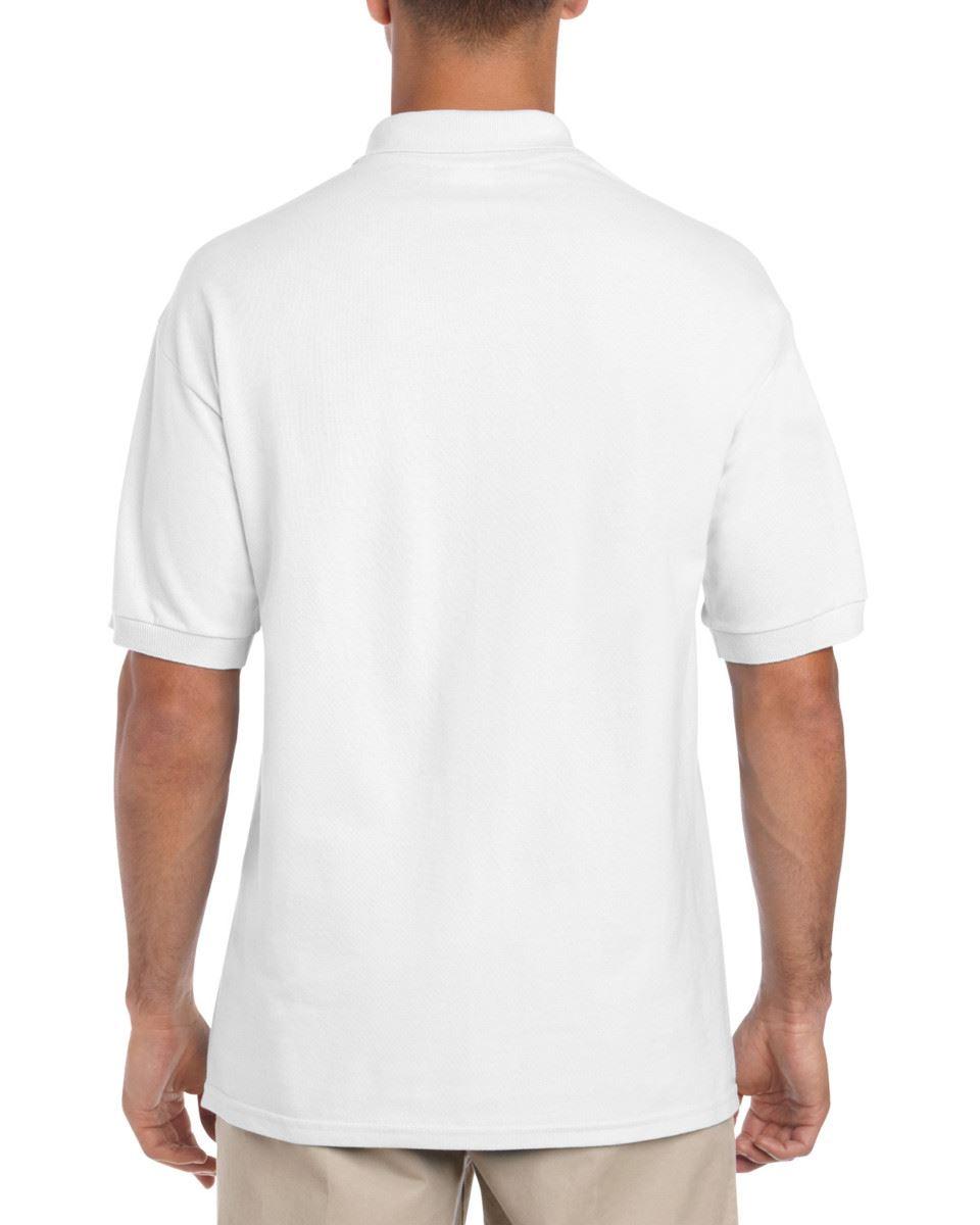 5-Pack-Gildan-Ultra-Cotton-Adult-Pique-Plain-Polo-Shirt-Tee-T-Shirt-Ringspun thumbnail 3