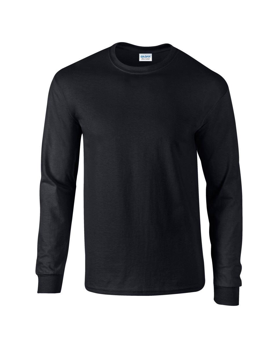 Gildan-Mens-Ultra-Cotton-Adult-Long-Sleeve-Plain-T-Shirt-Tshirt-Cotton-Tee-Shirt thumbnail 10