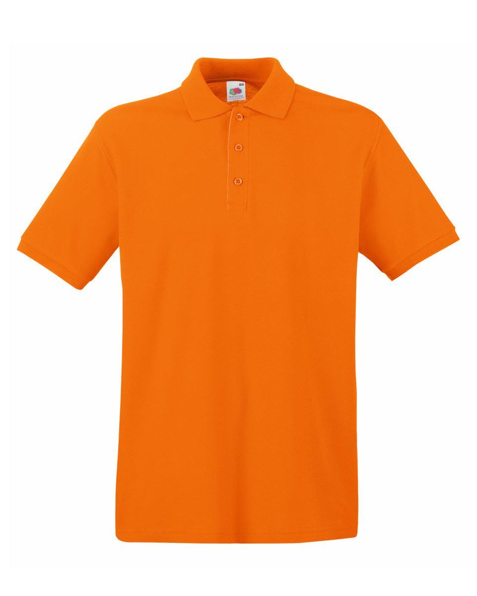 Mens-Polo-Shirts-Fruit-of-the-Loom-Premium-Polo-100-Cotton-Polo-Shirt-SS255 thumbnail 34
