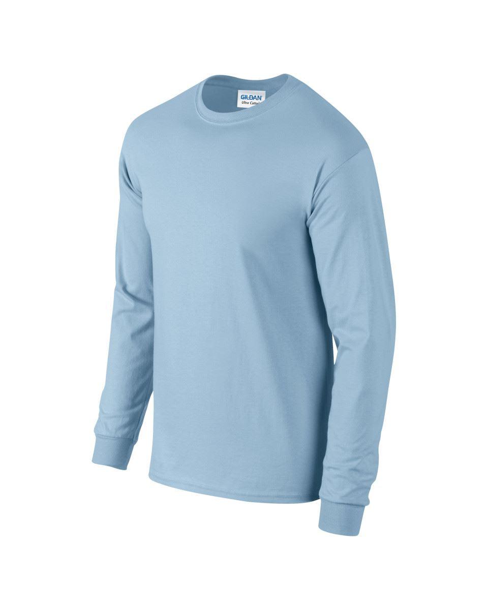 Gildan-Mens-Ultra-Cotton-Adult-Long-Sleeve-Plain-T-Shirt-Tshirt-Cotton-Tee-Shirt thumbnail 81