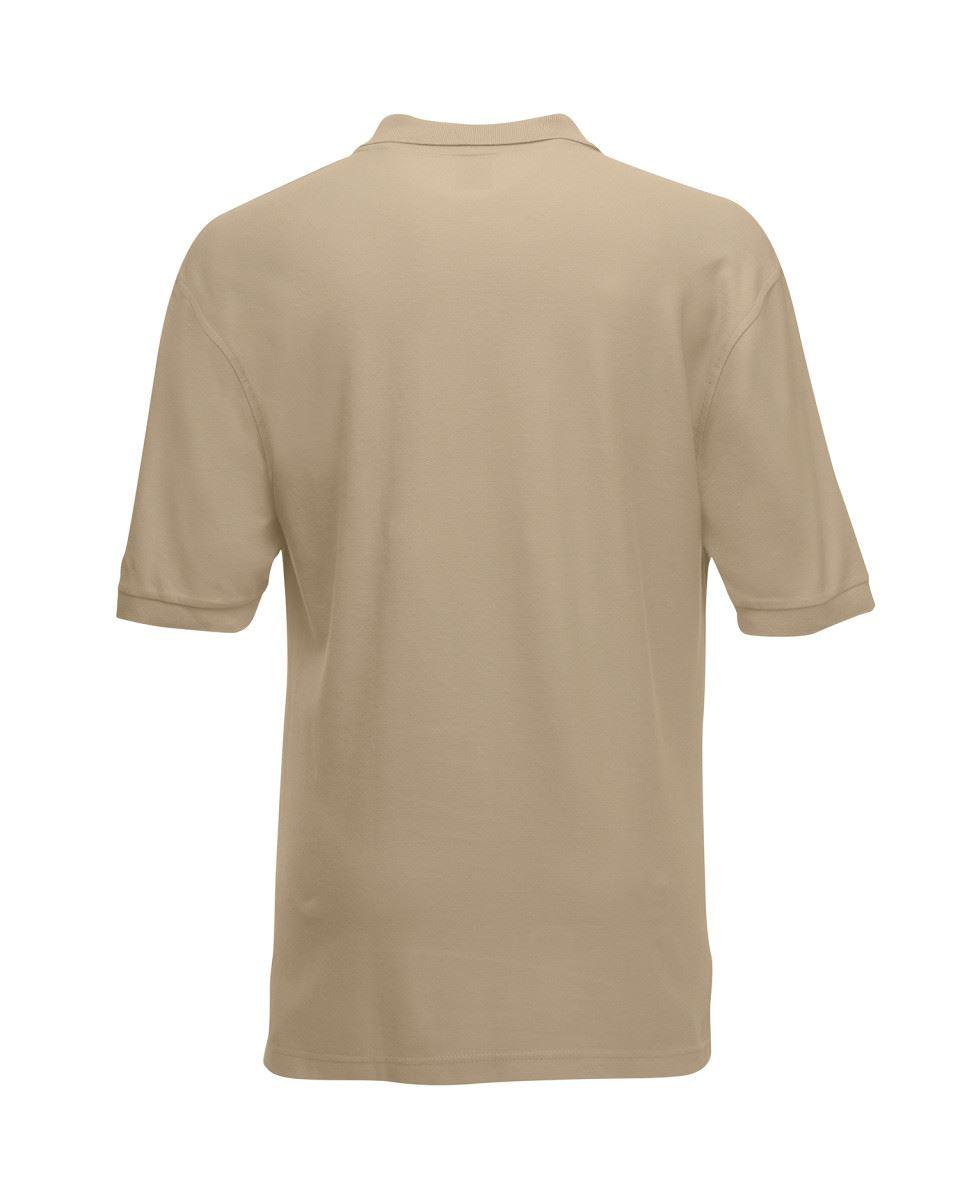 Mens-Polo-Shirts-Fruit-of-the-Loom-Premium-Polo-100-Cotton-Polo-Shirt-SS255 thumbnail 25