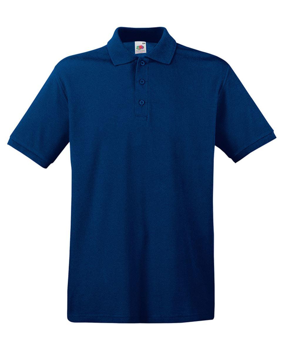 Mens-Polo-Shirts-Fruit-of-the-Loom-Premium-Polo-100-Cotton-Polo-Shirt-SS255 thumbnail 32
