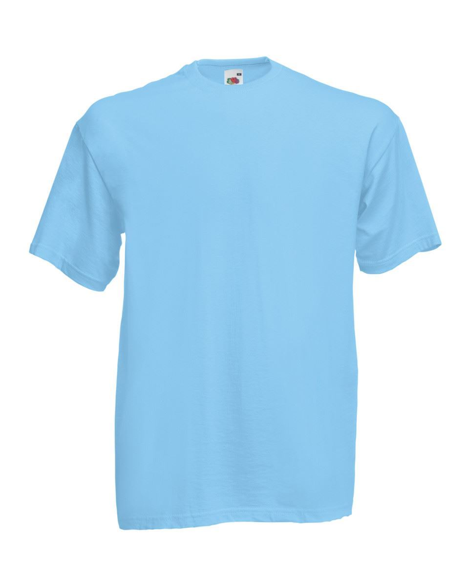 5-Pack-Men-039-s-Fruit-of-the-Loom-Plain-100-Cotton-Blank-Tee-Shirt-Tshirt-T-Shirt thumbnail 279