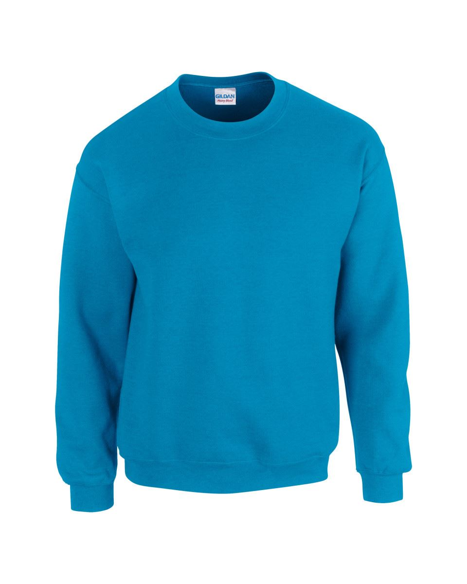 Gildan-Heavy-Blend-Adult-Crew-Neck-Pullover-Sweatshirt-Sweater-Workwear-Uniform thumbnail 40