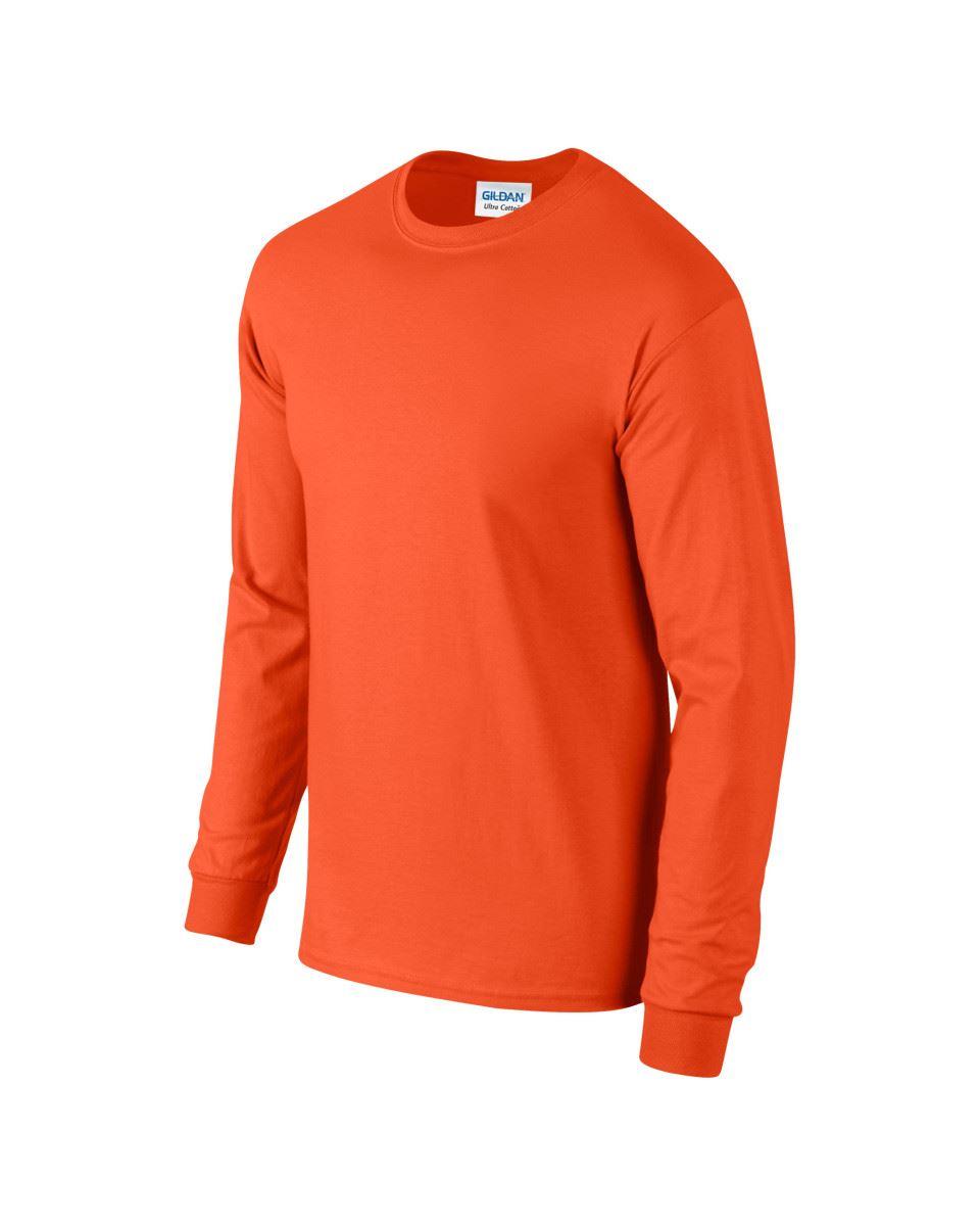 Gildan-Mens-Ultra-Cotton-Adult-Long-Sleeve-Plain-T-Shirt-Tshirt-Cotton-Tee-Shirt thumbnail 96