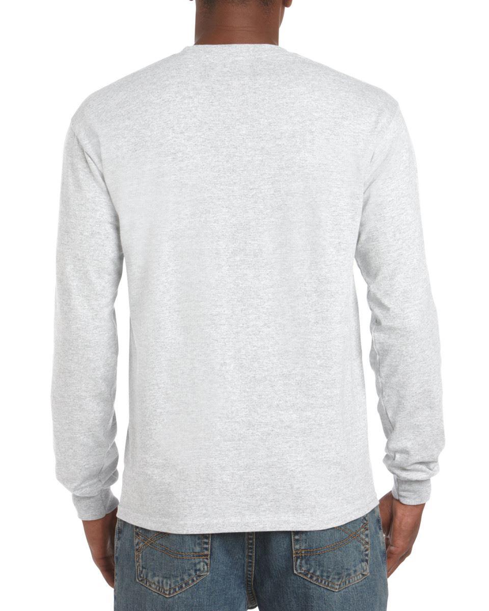 Gildan-Mens-Ultra-Cotton-Adult-Long-Sleeve-Plain-T-Shirt-Tshirt-Cotton-Tee-Shirt thumbnail 34
