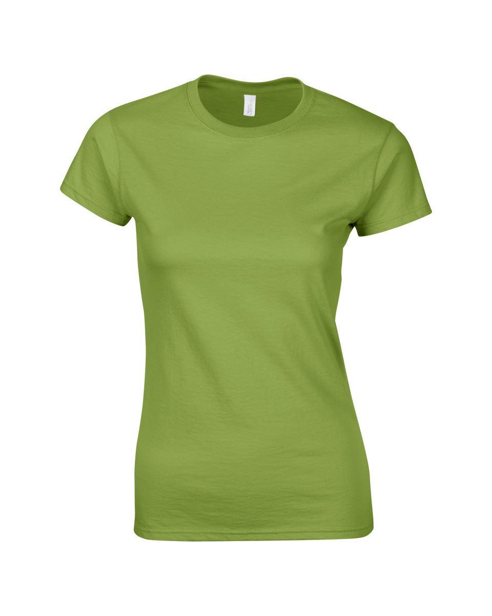 Gildan-Womens-Ladies-Soft-Style-Plain-V-Neck-T-Shirt-Cotton-Tee-Tshirt thumbnail 96