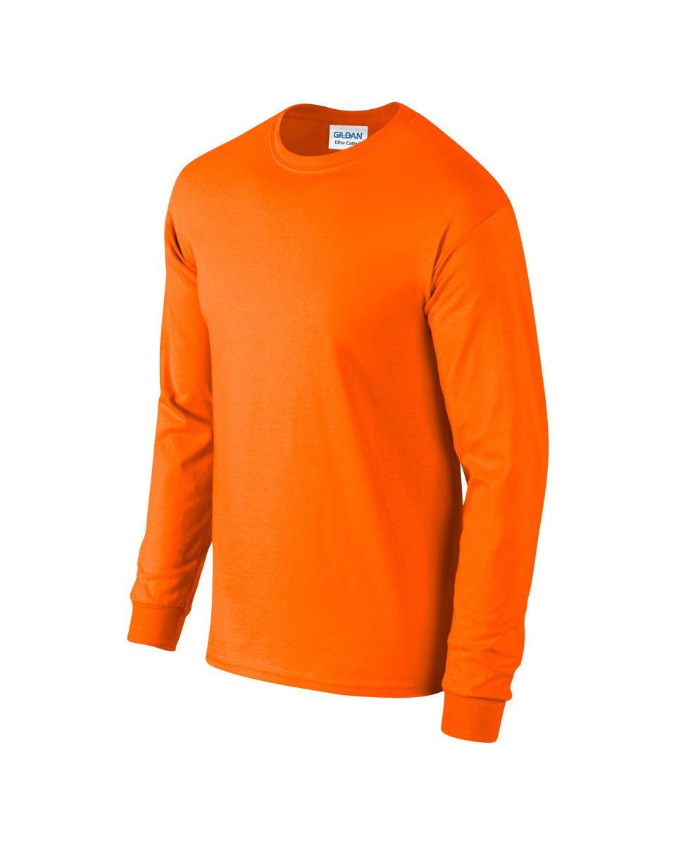 Gildan-Mens-Ultra-Cotton-Adult-Long-Sleeve-Plain-T-Shirt-Tshirt-Cotton-Tee-Shirt thumbnail 106