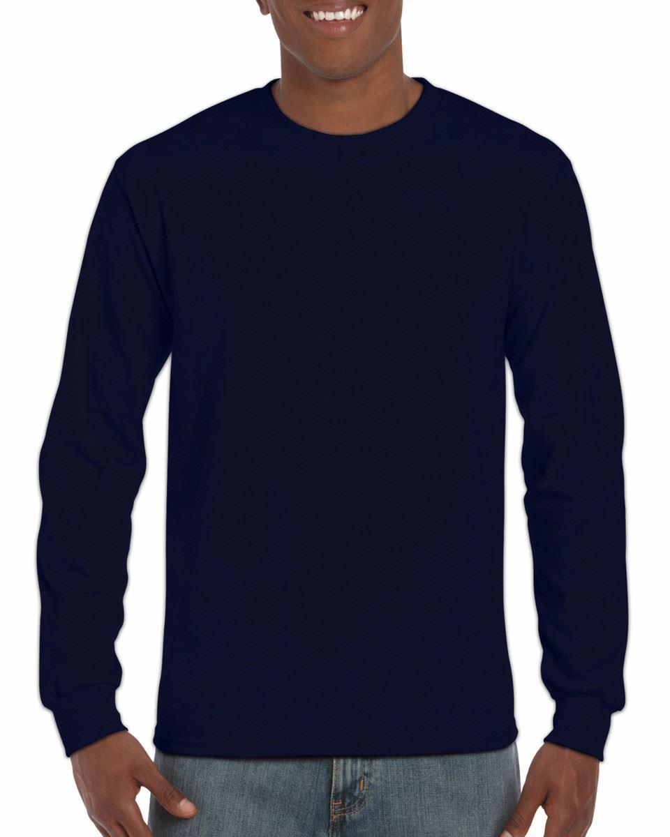 3-Pack-Gildan-Mens-Ultra-Cotton-Adult-Long-Sleeve-Plain-T-Shirt-Cotton-Tee-Shirt thumbnail 17
