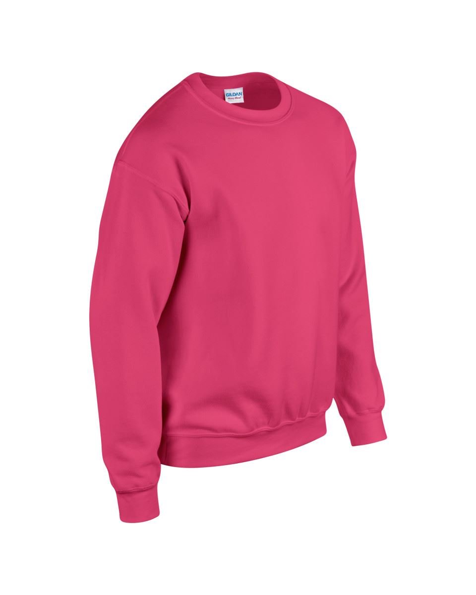 Gildan-Heavy-Blend-Adult-Crew-Neck-Pullover-Sweatshirt-Sweater-Workwear-Uniform thumbnail 95