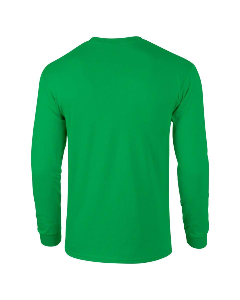 Gildan-Mens-Ultra-Cotton-Adult-Long-Sleeve-Plain-T-Shirt-Tshirt-Cotton-Tee-Shirt thumbnail 77