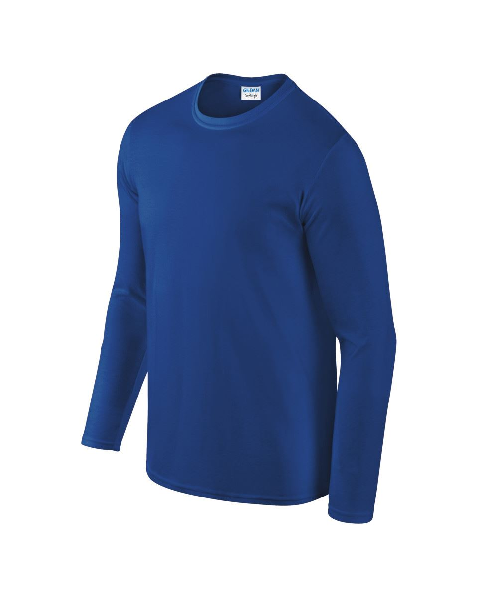Gildan-MEN-039-S-LONG-SLEEVE-T-SHIRT-SOFT-COTTON-PLAIN-TOP-SLEEVES-CASUAL-NEW-S-2XL thumbnail 36