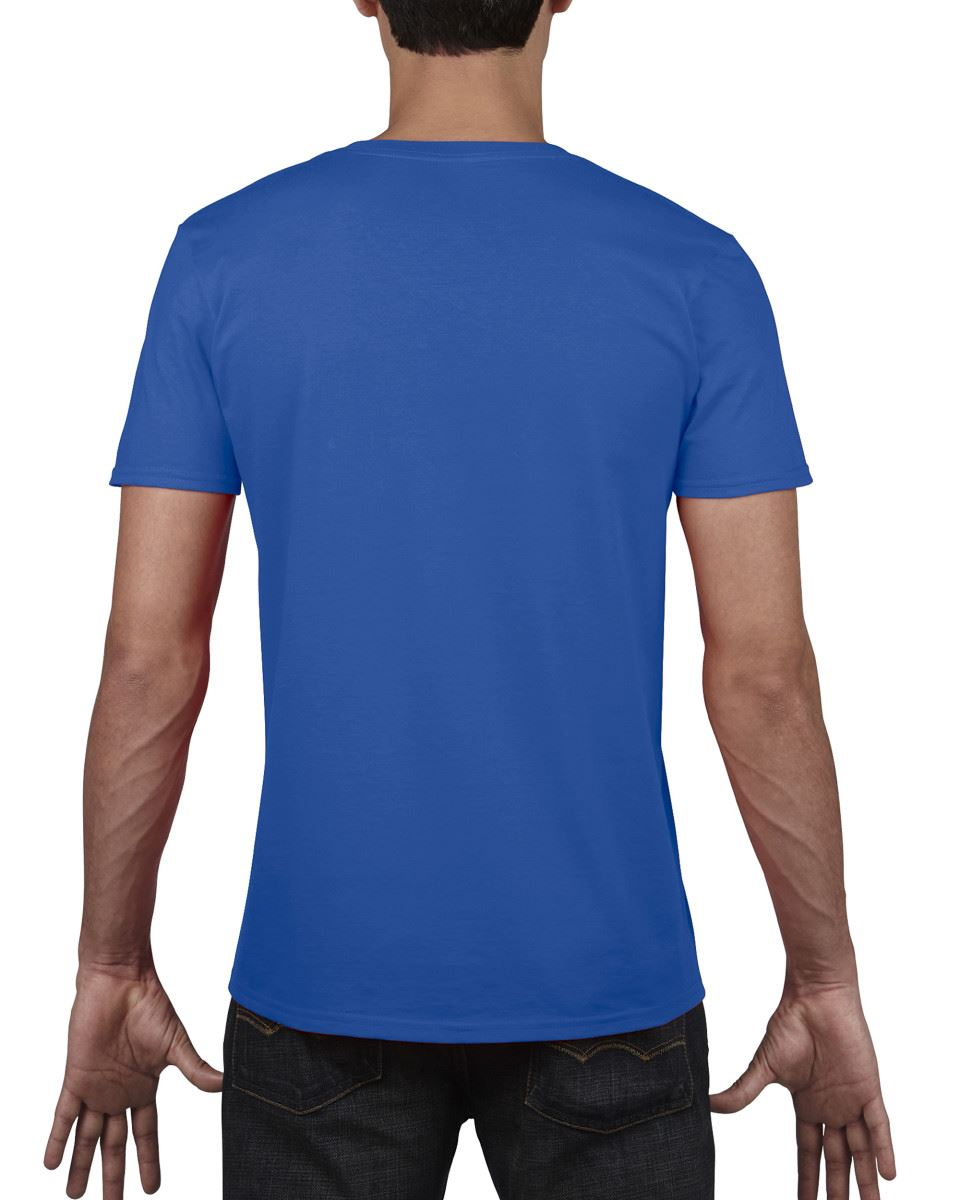 Gildan-Mens-Men-039-s-Soft-Style-Plain-V-Neck-T-Shirt-Cotton-Tee-Tshirt thumbnail 54