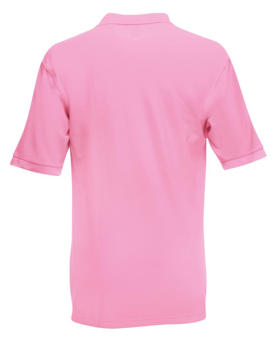 Mens-Polo-Shirts-Fruit-of-the-Loom-Premium-Polo-100-Cotton-Polo-Shirt-SS255 thumbnail 29