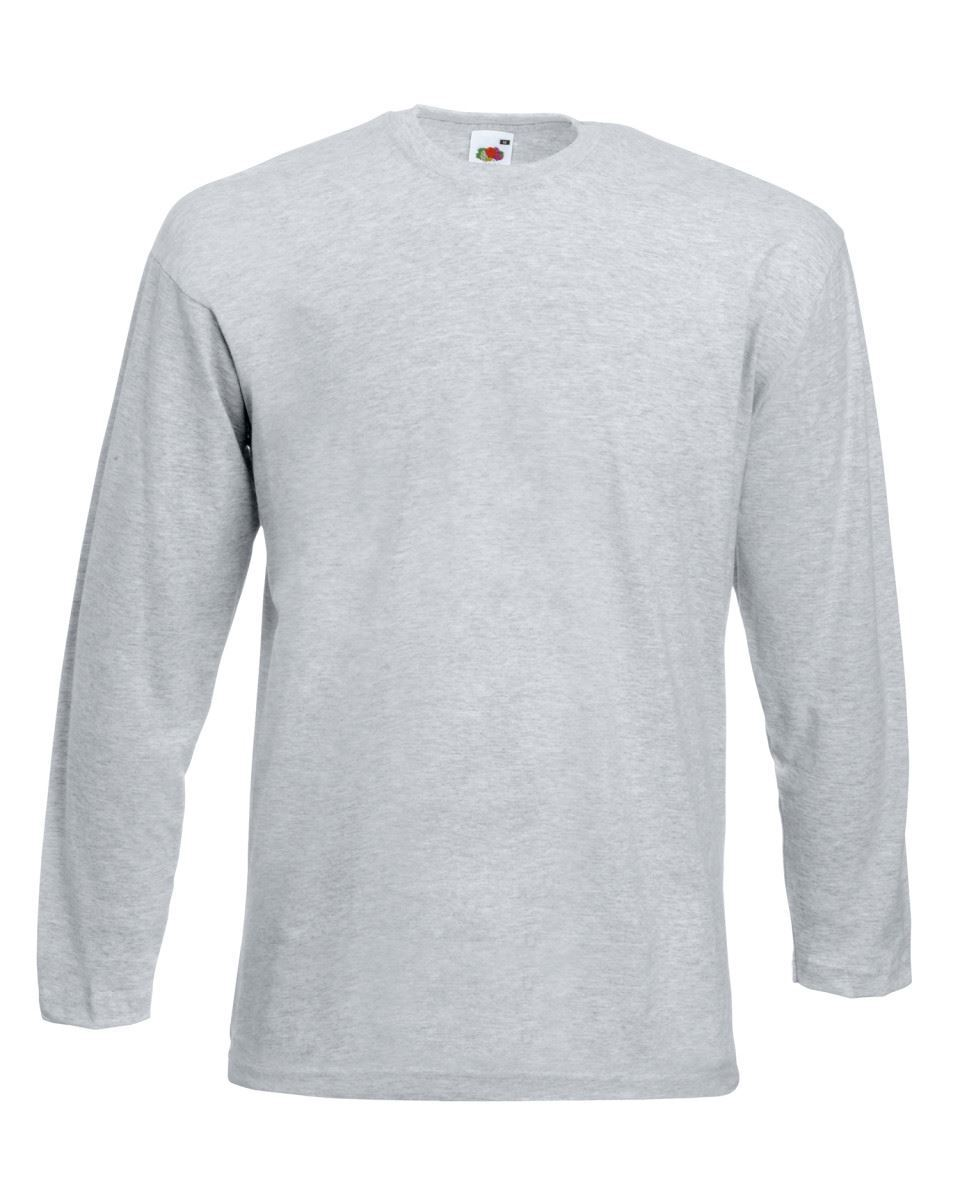 3-Pack-Men-039-s-Fruit-of-the-Loom-Long-Sleeve-T-Shirt-Plain-Tee-Shirt-Top-Cotton thumbnail 48
