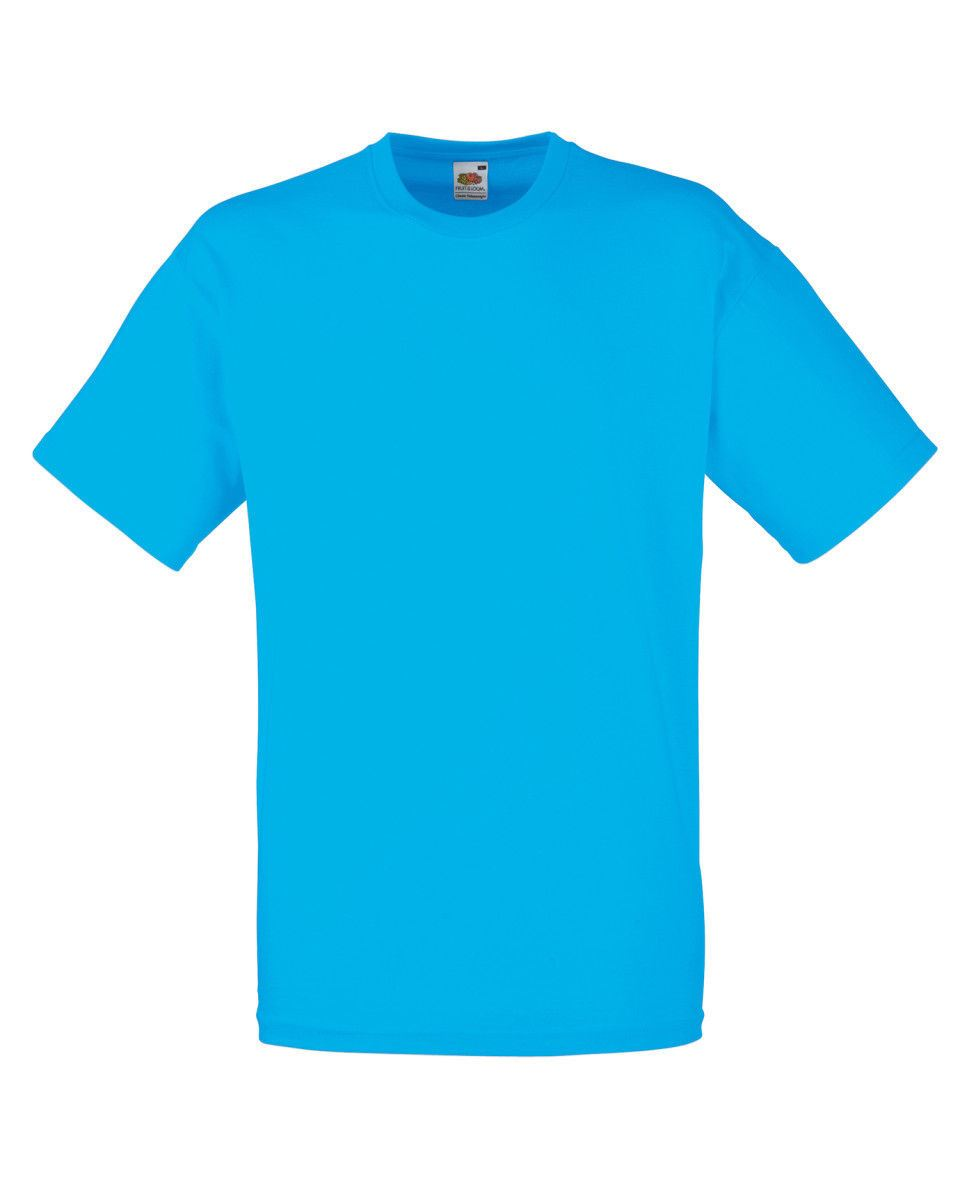 Fruit-Of-The-Loom-Mens-Womens-Valueweight-Plain-Crew-Neck-T-Shirt-Tee-Cotton thumbnail 29
