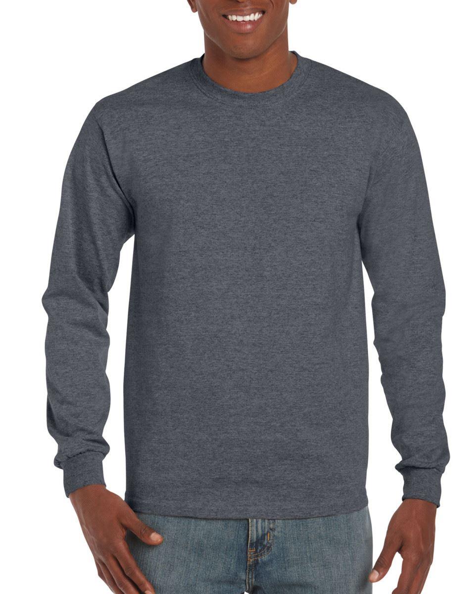 3-Pack-Gildan-Mens-Ultra-Cotton-Adult-Long-Sleeve-Plain-T-Shirt-Cotton-Tee-Shirt thumbnail 57