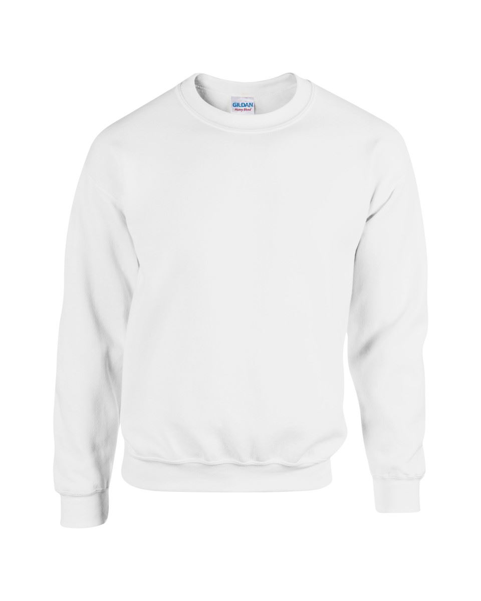 Gildan-Heavy-Blend-Adult-Crew-Neck-Pullover-Sweatshirt-Sweater-Workwear-Uniform thumbnail 5