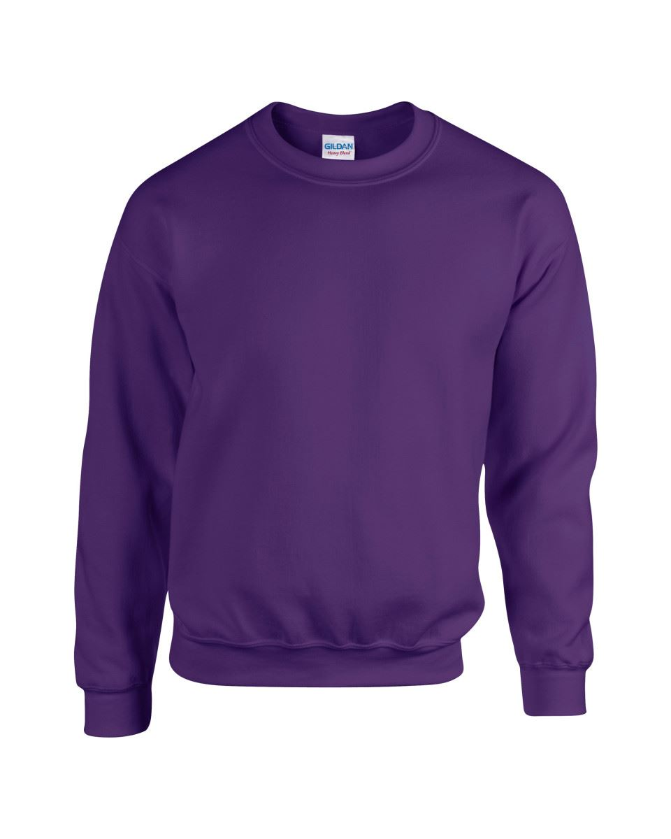 Gildan-Heavy-Blend-Adult-Crew-Neck-Pullover-Sweatshirt-Sweater-Workwear-Uniform thumbnail 134