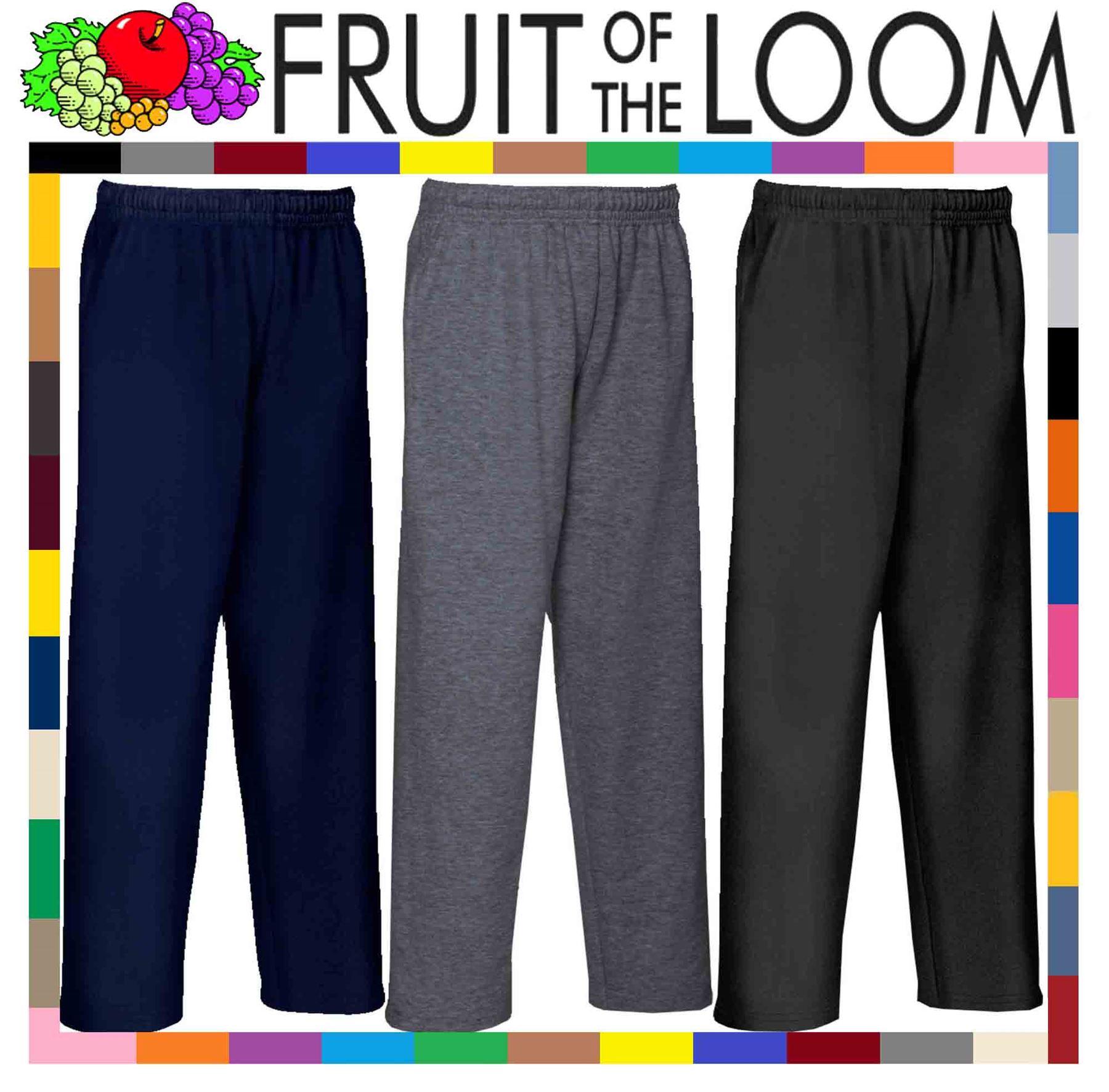 Fruit of the Loom Open Hem Lightweight Pantaloni Sportivi Bambino