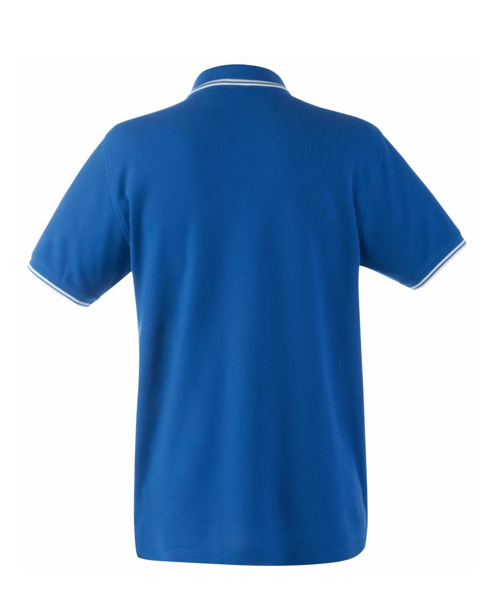 FRUIT-OF-THE-LOOM-Men-039-s-Tipped-Polo-Contrast-Neck-Tape-Cuff-Pure-Cotton-Polo-Top thumbnail 11