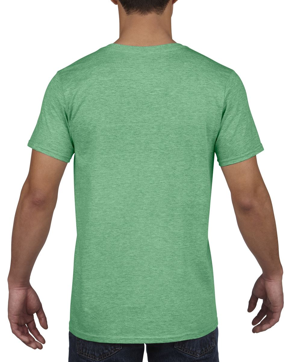 Gildan-Mens-Men-039-s-Soft-Style-Plain-V-Neck-T-Shirt-Cotton-Tee-Tshirt thumbnail 24