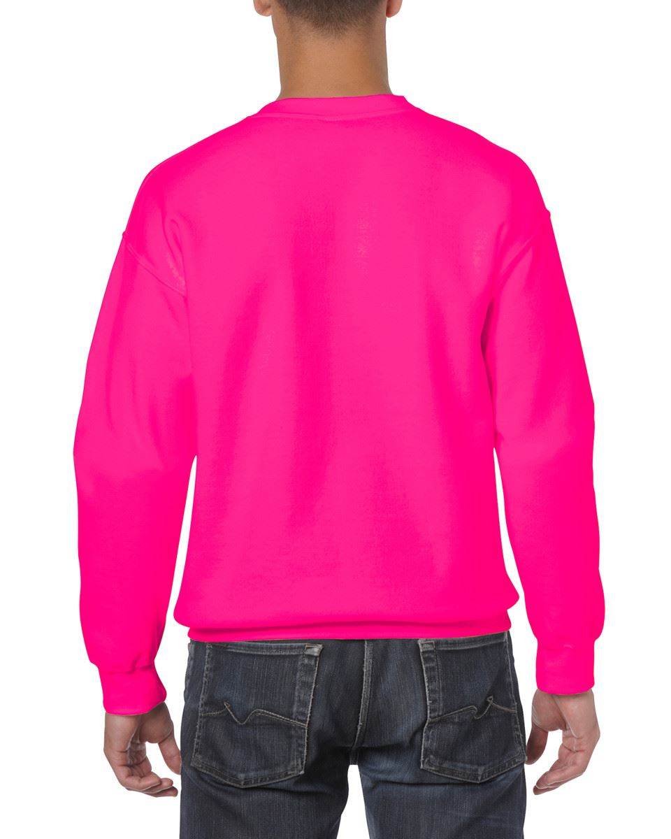 Gildan-Heavy-Blend-Adult-Crew-Neck-Pullover-Sweatshirt-Sweater-Workwear-Uniform thumbnail 142