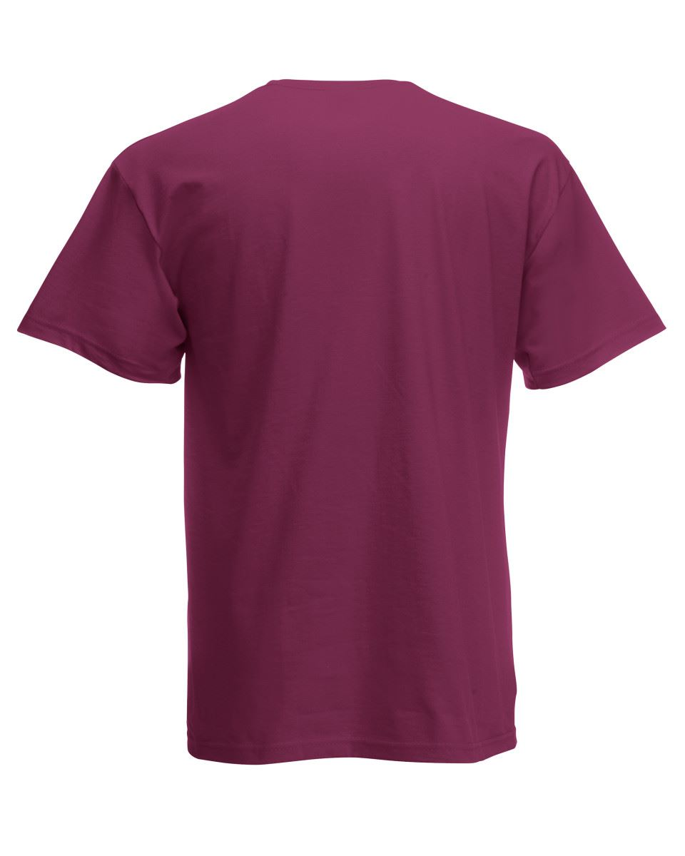 Fruit-of-the-Loom-Cotton-Plain-Blank-Men-039-s-Women-039-s-Original-Tshirt-T-Shirt-NEW thumbnail 21