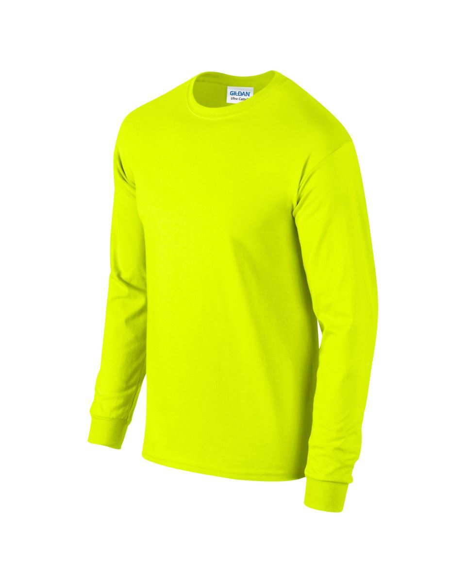 Gildan-Mens-Ultra-Cotton-Adult-Long-Sleeve-Plain-T-Shirt-Tshirt-Cotton-Tee-Shirt thumbnail 101