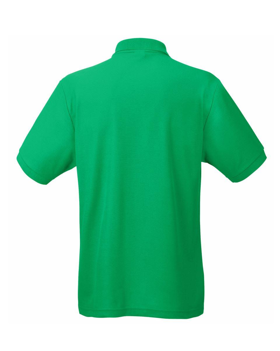 Fruit-of-the-Loom-Plain-Cotton-Mens-Polo-Shirts-T-Shirt-Short-Sleeve-Tshirt thumbnail 15