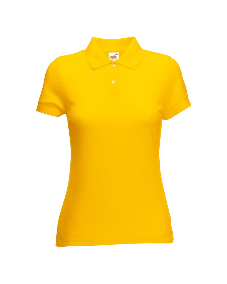 Fruit-Of-The-Loom-Ladies-Lady-Fit-Premium-Pique-Cadat-Collar-Polo-Shirts-T-shirt thumbnail 22