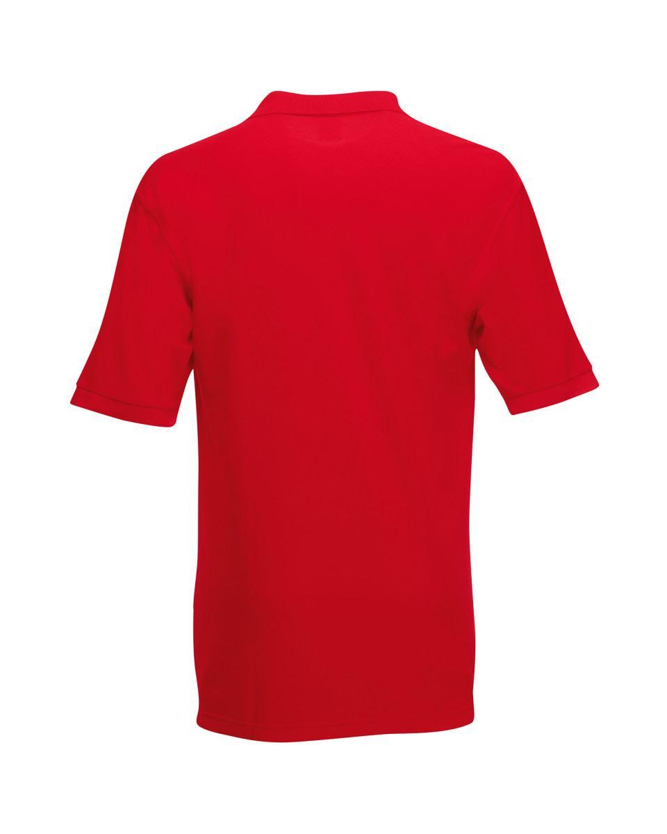 Fruit-of-the-Loom-Plain-Cotton-Mens-Polo-Shirts-T-Shirt-Short-Sleeve-Tshirt thumbnail 23