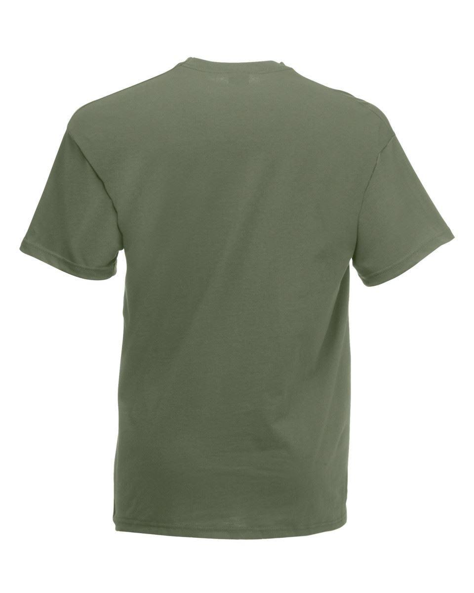 5-Pack-Men-039-s-Fruit-of-the-Loom-Plain-100-Cotton-Blank-Tee-Shirt-Tshirt-T-Shirt thumbnail 95